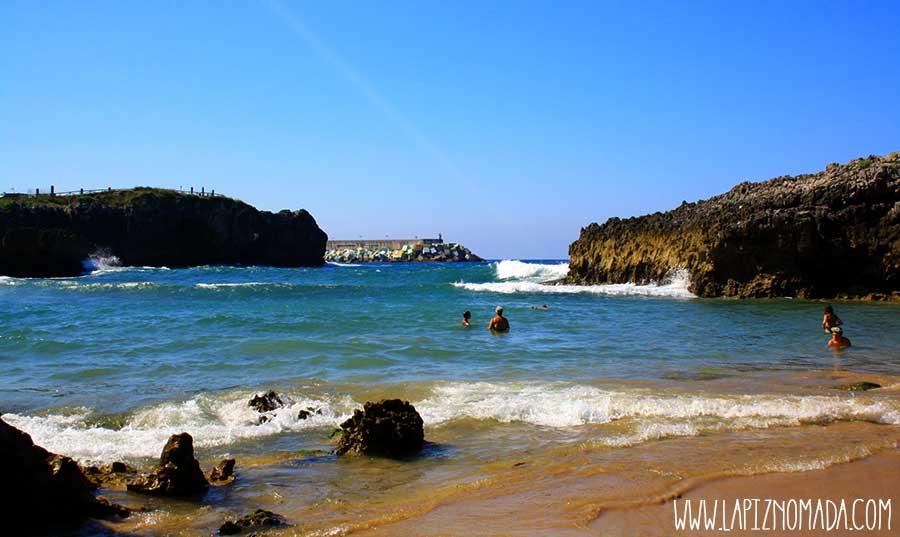 Playa de Toró playas de Llanes