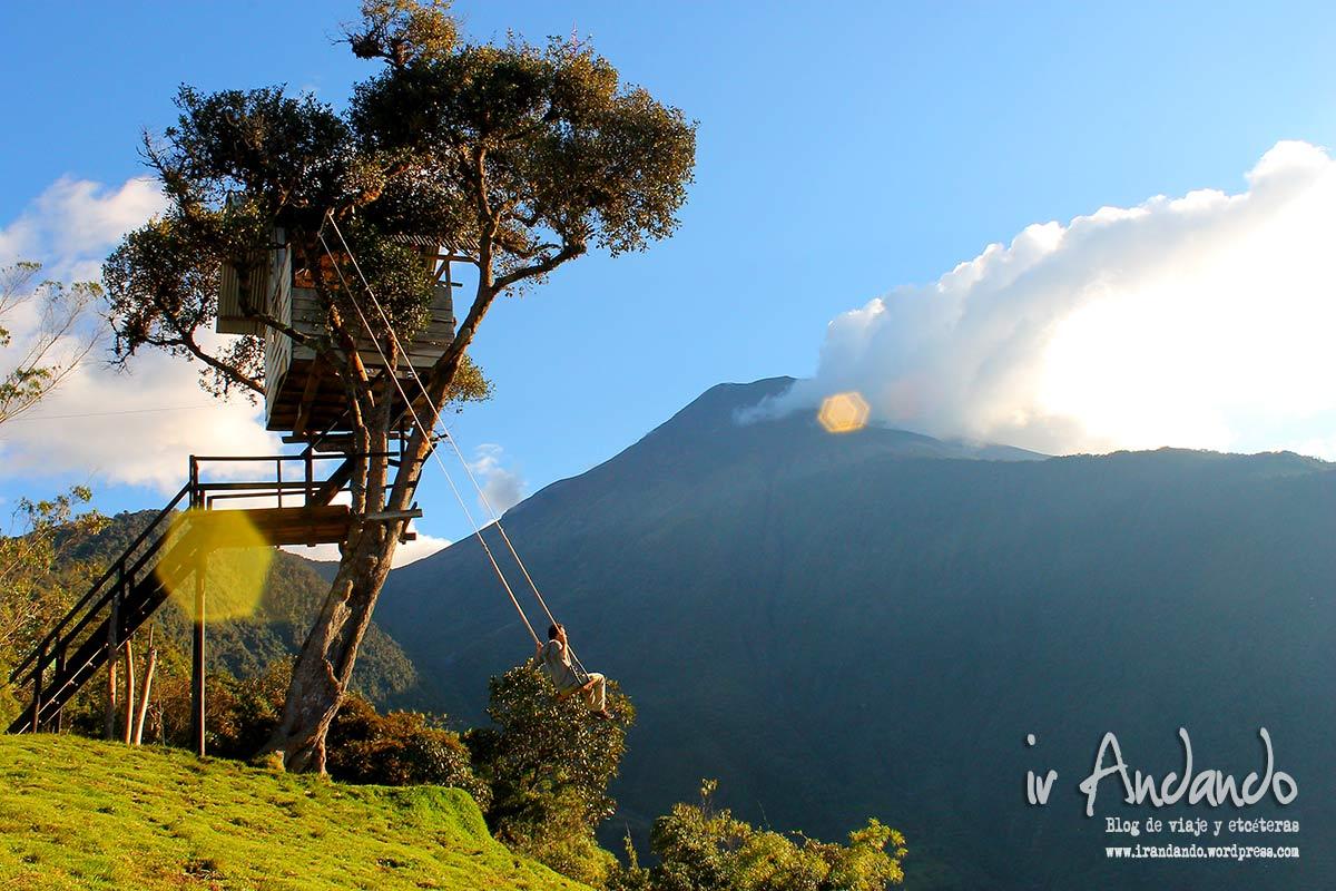 La famosa casa del rbol en ba os de agua santa ecuador - Casitas en el arbol ...