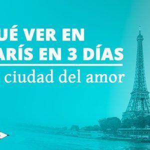 Que ver en París en 3 días