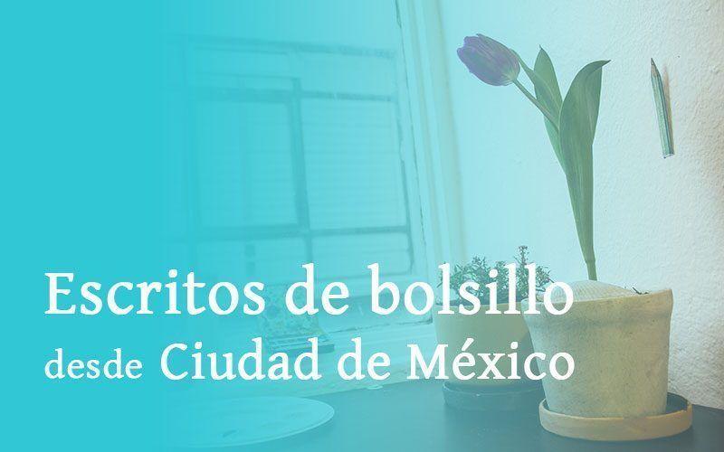 Escritos de bolsillo desde Ciudad de México