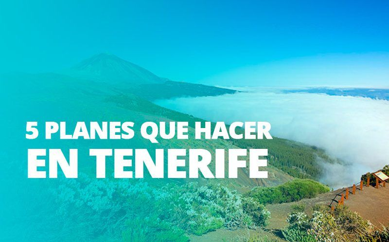 Tenerife, la escapada perfecta para después de la Navidad