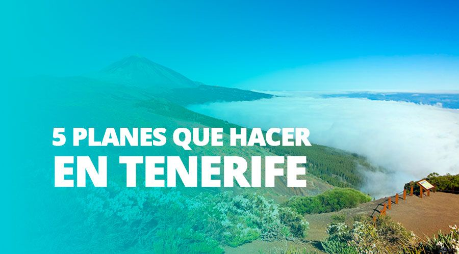 TENERIFE ▷ Tenerife, la escapada perfecta para después de la Navidad ✅