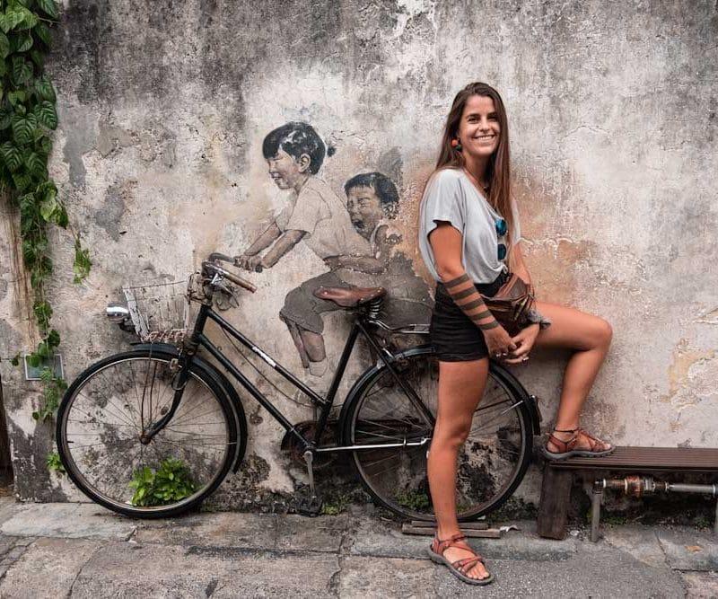 Los mejores murales de George Town | Penang Street art